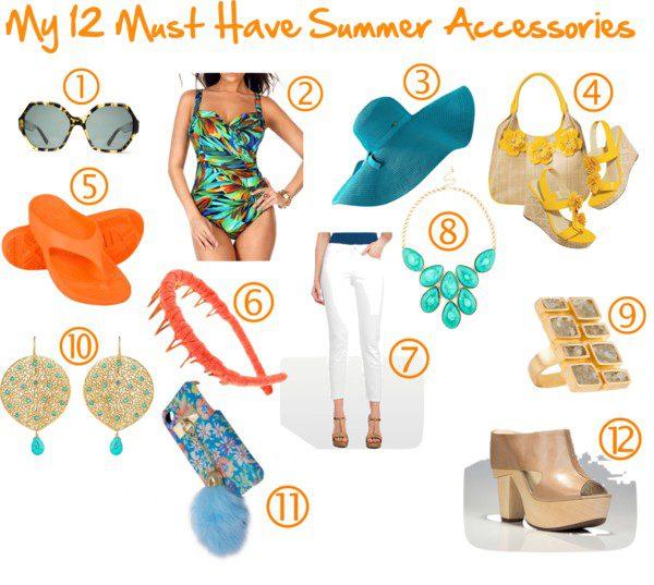 Summer, Accessories