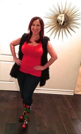 Last Tango Red Tankm with vest