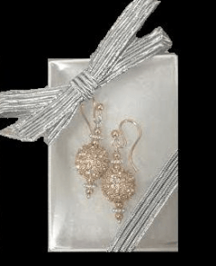 Crystal Athena Earrings