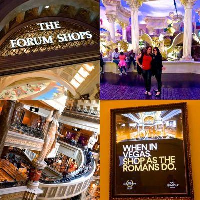 Vegas Forum Shops Collage