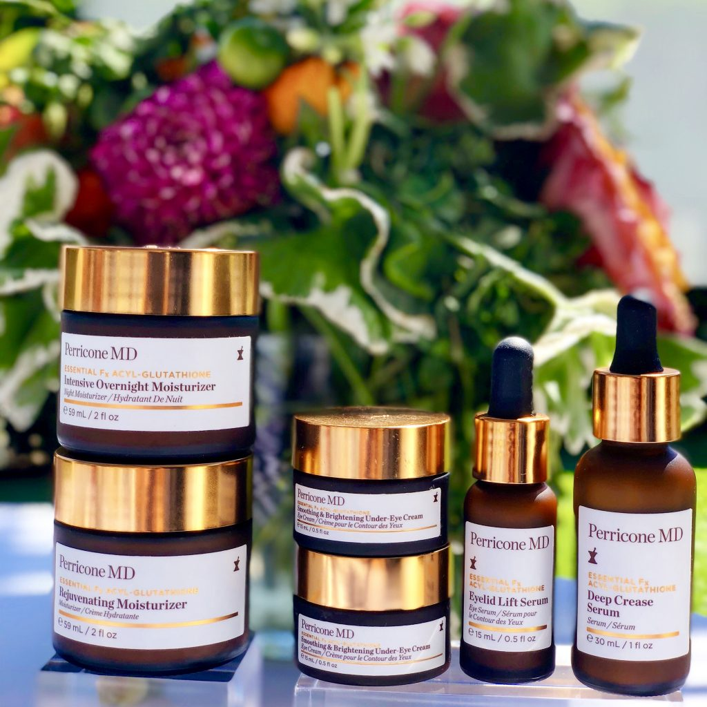 Perricone MD's groundbreaking Essential Fx skincare line targets and diminishes wrinkles like no other anti-aging products that I have tried before.