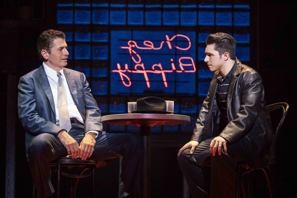 A Bronx Tale is a streetwise musical that wonderfully captures the grandeur and grittiness of the streets of New York during the 1960's.