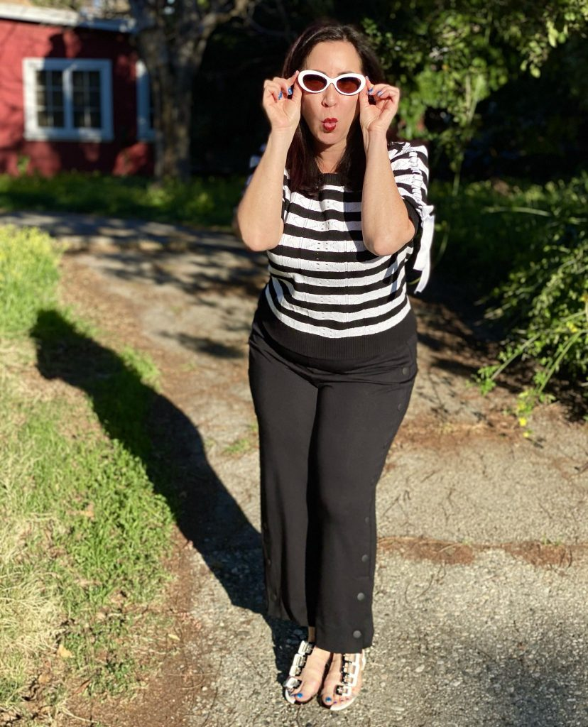 If you like fashions that never go out of style, then you are going to love the fabulous black & white pieces in cabi's Spring 2021 Collection