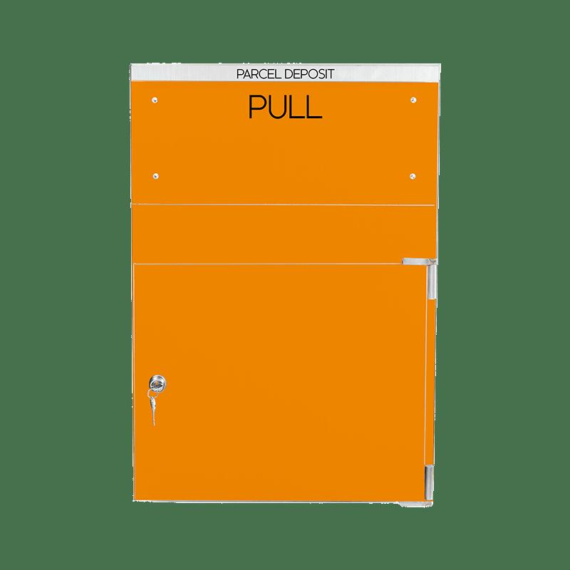 Orange Extra large secured parcel box