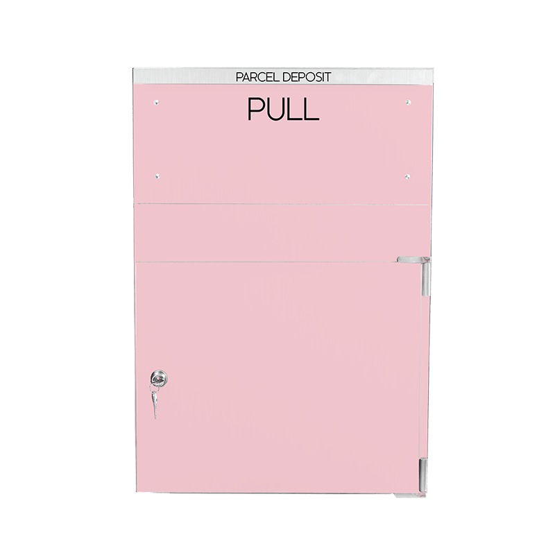 Pink Extra large parcel delivery box