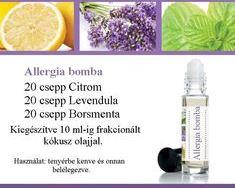 Illóolaj keverék allergiára,nagyszerű