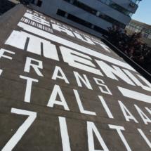 Spray Art for Restaurant BAUT / Bacardi