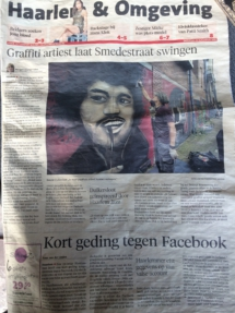 Haarlem Jazz krant newspaper
