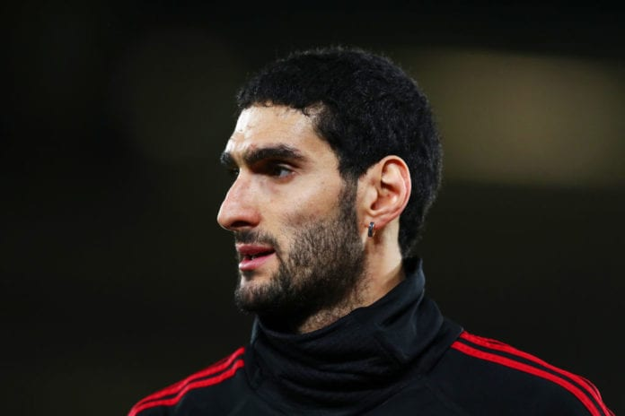 Image result for fellaini belgium teammates 2018 getty  RED DEVILS STAR ANNOUNCES RETIREMENT, GIVES REASON FOR UNEXPECTED DECISION! GettyImages 1075660404 1 696x464