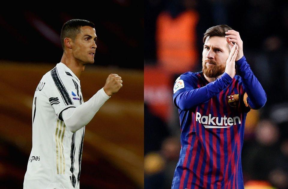 Messi pays tribute to 'admirable' long-time rival Ronaldo - ronaldo.com