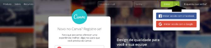 criar banner online com o canva