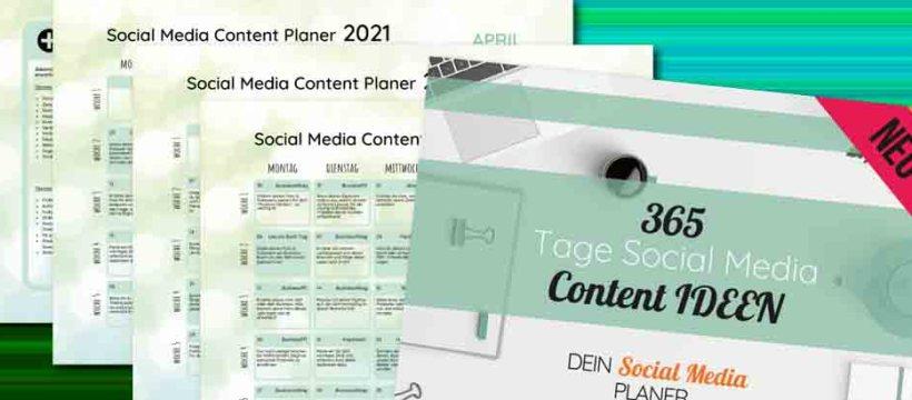 Jetzt anpacken: Einträge in den Social Media 2021