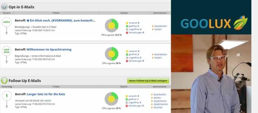 Steffen Schwarzlose bietet mit Goolux eine top Automation