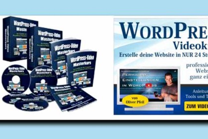 Ein Videokurs für den WordPress Start