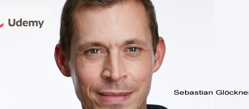 Sebastian Glöckner - bekannter Dozent an der Kursplattform Udemy