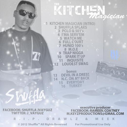 SHUFFLA - THE KITCHEN MAGICIAN BACK COVER