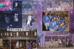 YEARBOOK PAGE - 2012 - BASKETBALL & SOFTBALL