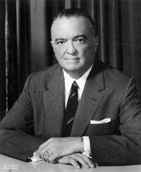 Director Hoover Portrait