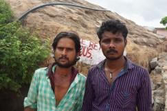 Visitors to the Hanuman Temple