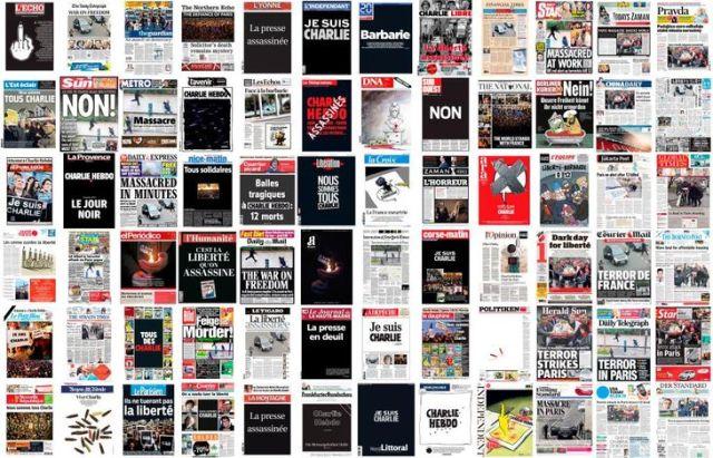 Une de 72 journaux européens ce jeudi