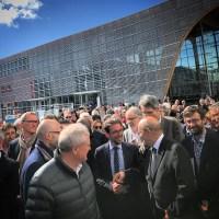 Inauguration de la nouvelle gare Lorient Bretagne Sud
