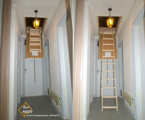 Image n°ESC1 - Escalier escamotable - Ronan PARQUER Artisan