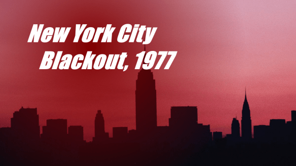 New York City Blackout, 1977