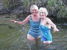 Bathing beauties at Krakadouw