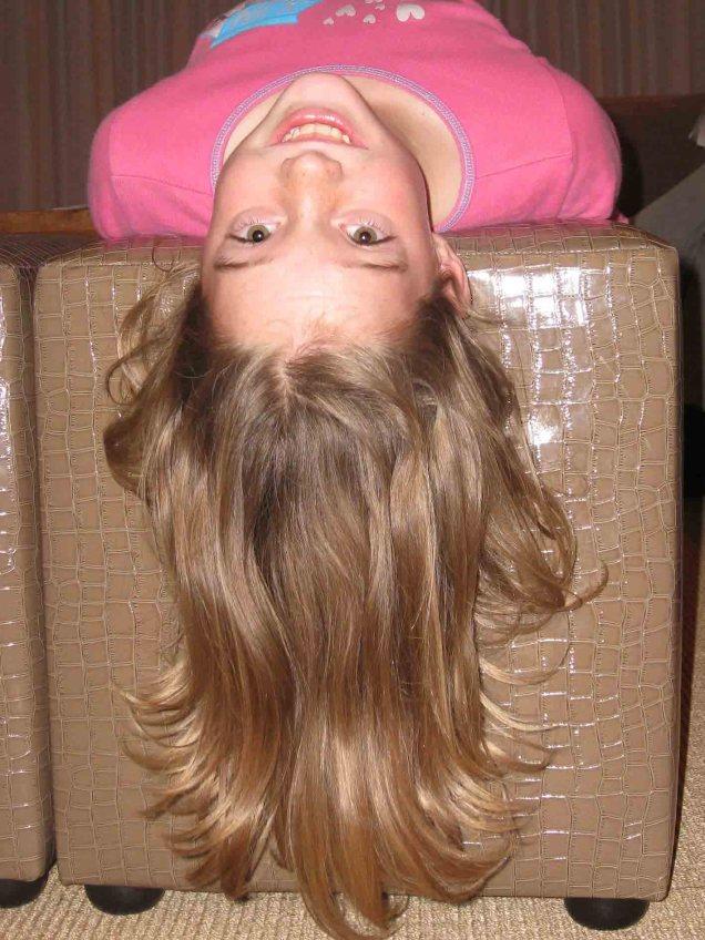 Lexie's hair