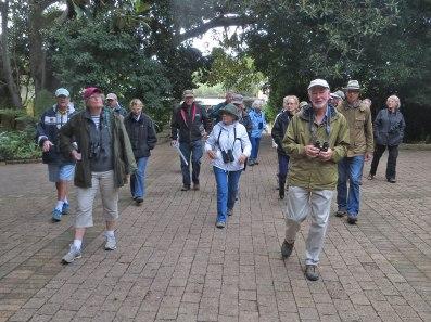 Entering Kirstenbosch