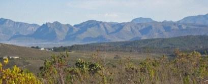 View towards Kleinmond