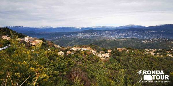Panorama-Tanneron-Village-Private-Tour-Van-Excursions-Ronda-Tour-Cannes-Provence-French-Riviera-France