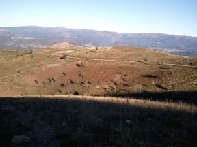 Colinas acima de Carvalhais