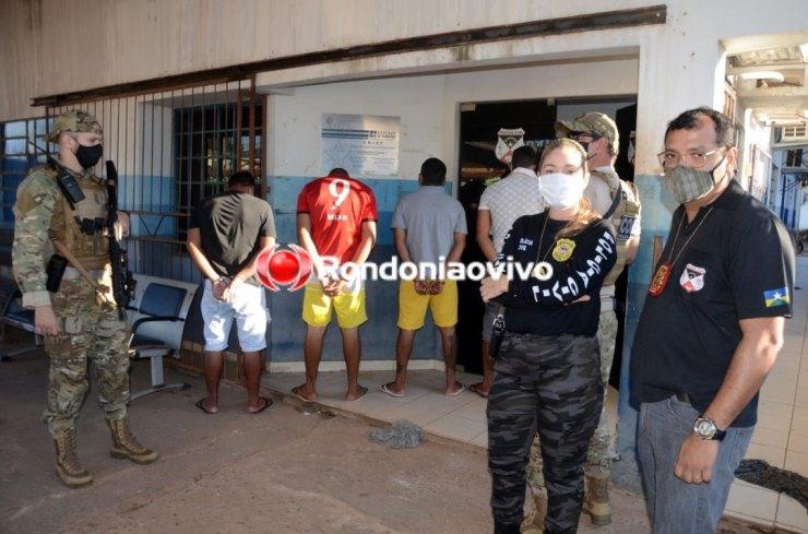 MÃOS DA LEI: Polícia Civil faz operação para prender membros de facção criminosa