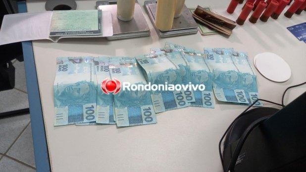 URGENTE: 'Patrimônio' prende criminoso com grande quantidade de drogas, arma e dinheiro falso