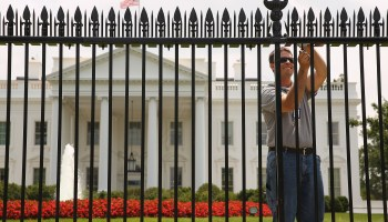 New Security Fence Is Installed At White House