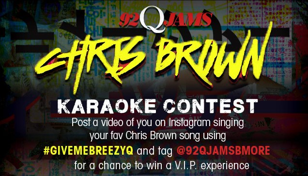 Chris Brown Contest 92Q