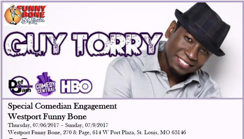 Guy Torry at Funny Bone