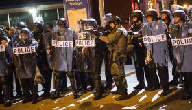 Baltimore police Freddie Gray protest