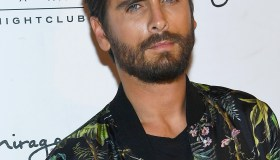 Scott Disick Celebrates 33rd Birthday At 1 OAK Las Vegas At The Mirage Hotel And Casino