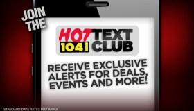 Hot 104.1 Text Club