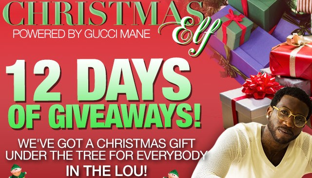 12 Days of Christmas with Gucci Mane