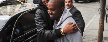 Kim Kardashian And Kanye West Sighting In New York City - April 22, 2013