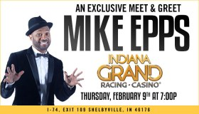Mike Epps Meet & Greet Flyer