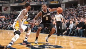 San Antonio Spurs v Indiana Pacers