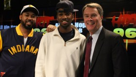 Mayor Joe Hogsett Visits Hot 96.3