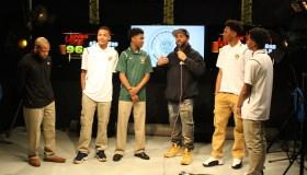 Crispus Attucks BBall Team Interview - Hot 96.3