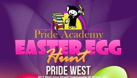 Pride Academy Easter Egg Hunt flyer