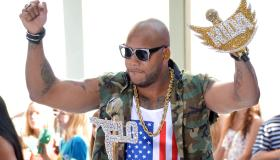 Flo Rida Performs On NBC's 'Today'