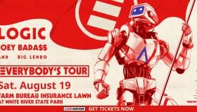 LOGIC with Joey Bada$$ Flyer - Indy